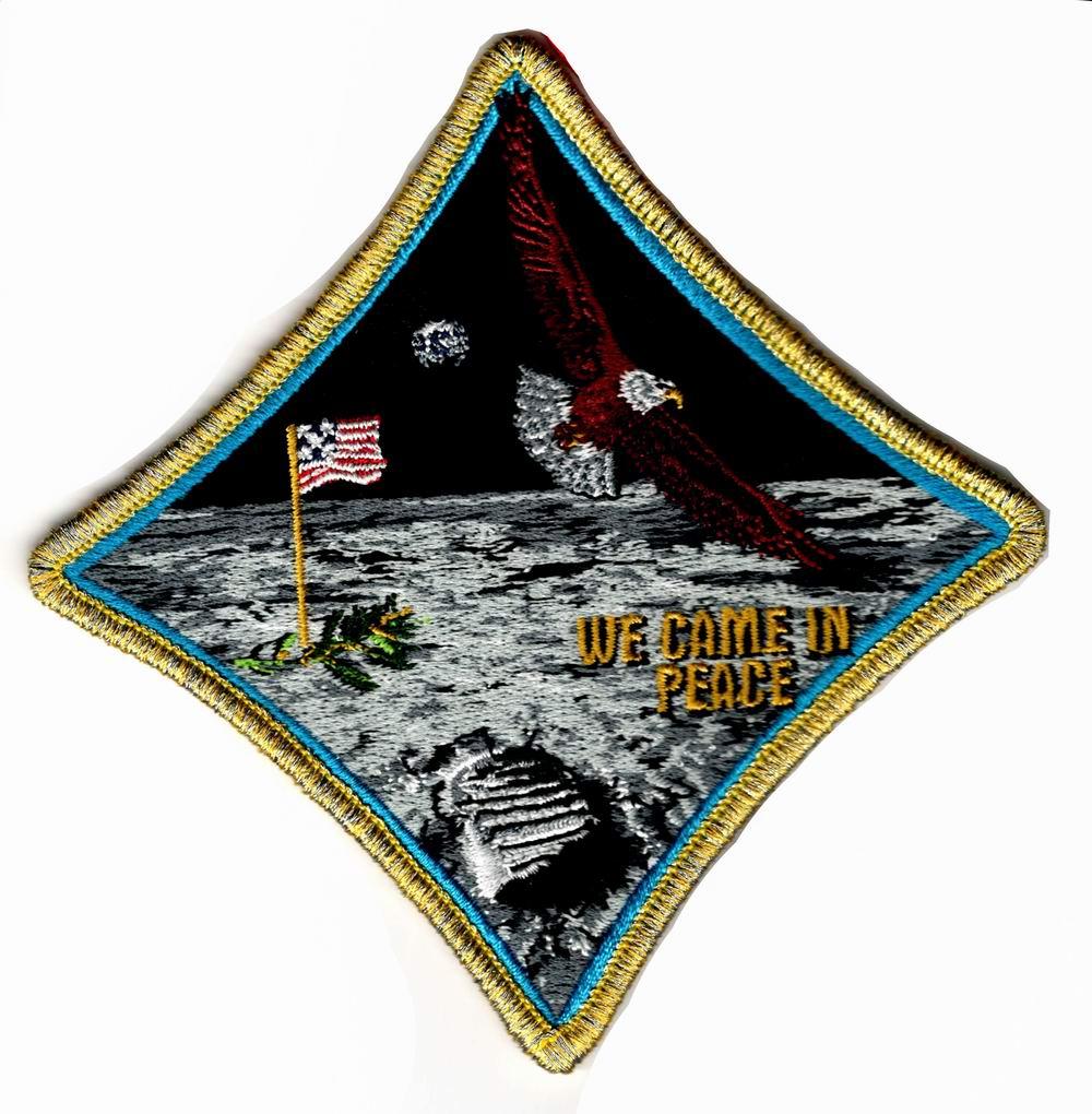 Patch NASA Apollo 50 ans Conquête de la Lune