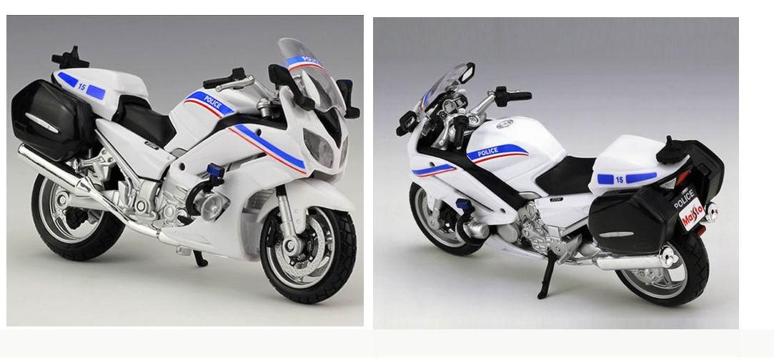 Moto POLICE NATIONALE Française Yamaha FJR 1300A 1/18