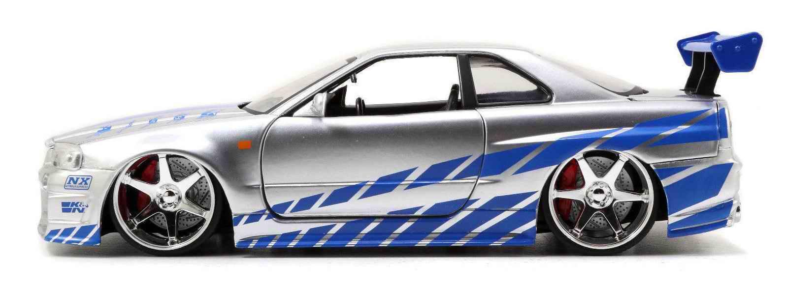 VéhiculeNISSAN Skyline GTR R34Fast and Furious 1/24ème
