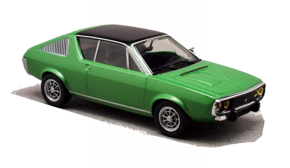 Voiture Miniature Renault 17 Solido 1/43