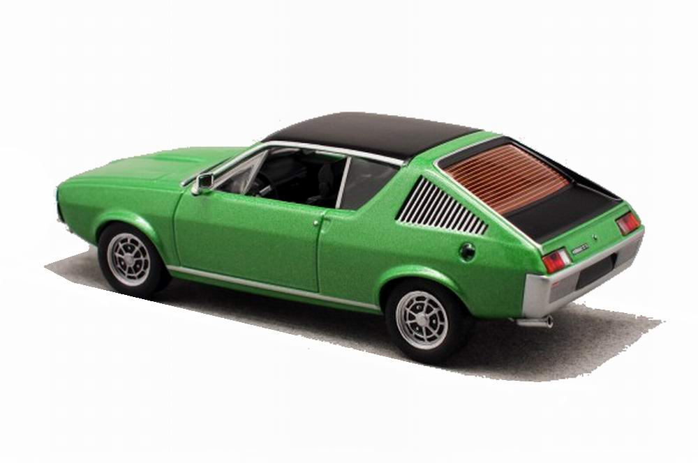 Voiture Miniature Renault17 Solido 1/43
