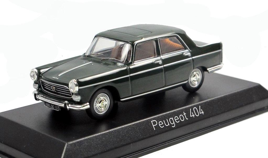 PEUGEOT 404 Coup 1967 Noir NOREV 1/43