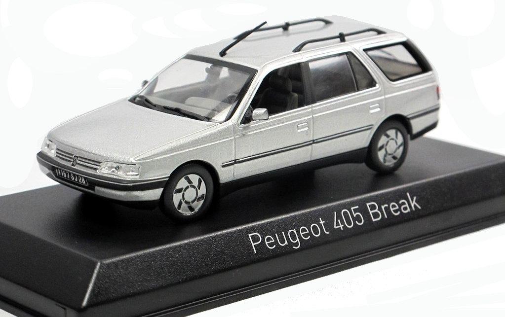 Voiture miniature PEUGEOT 405 break SRI Norev 1/43