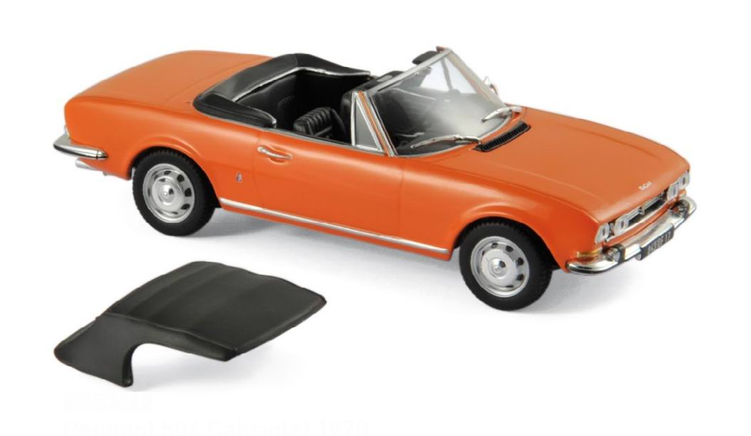 Voiture miniature PEUGEOT 504 Cabriolet NOREV 1/43