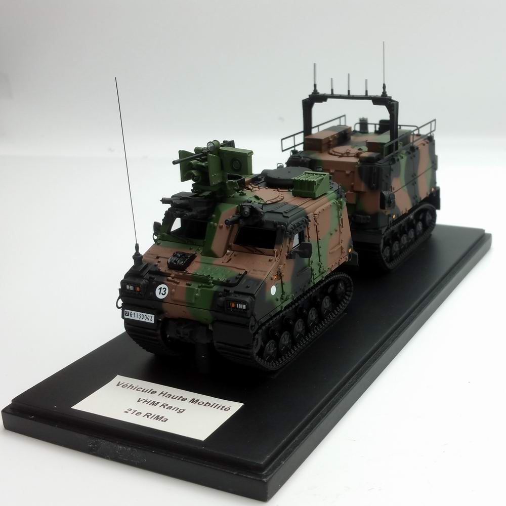 Maquette Véhicule Haute Mobilité VHM RANG Transport de Troupes Marine 21e RIMa MASTER FIGHTER BY GASO.LINE