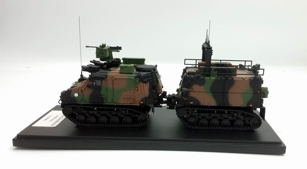 Miniature Véhicule Haute Mobilité VHM RANG Transport de Troupes Marine 21e RIMa MASTER FIGHTER BY GASO.LINE