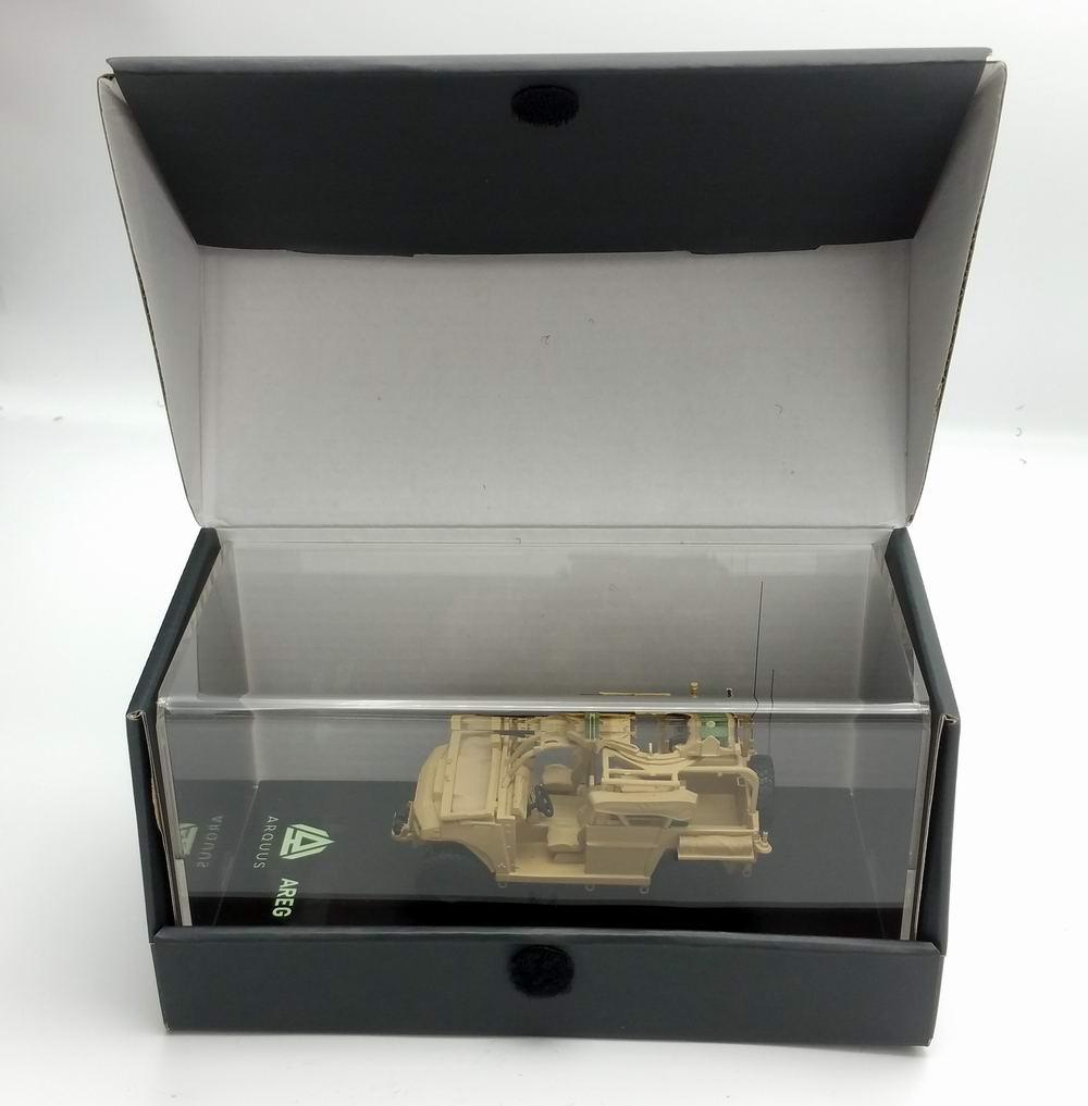 Miniature Véhicule Léger Pour Forces Spéciales VLFS ARQUUS Camouflage Sable 1/48 MASTER FIGHTER BY GASO.LINE