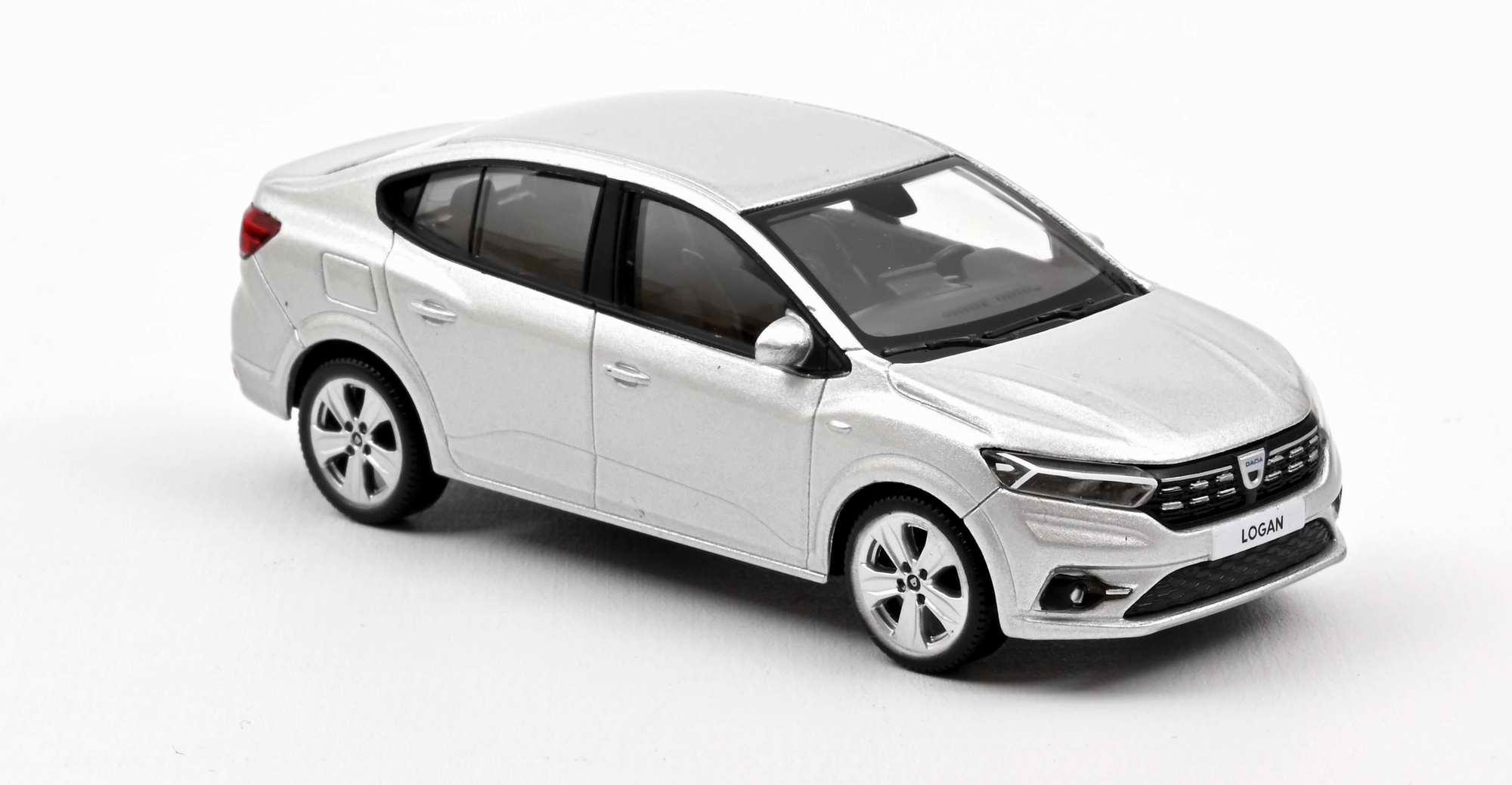 Voiture miniature Dacia logan 2021 gris NOREV 1/43