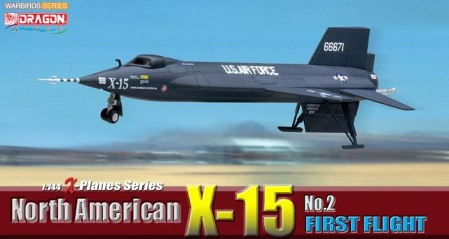 North American X-15 No.2 first flight 1/144