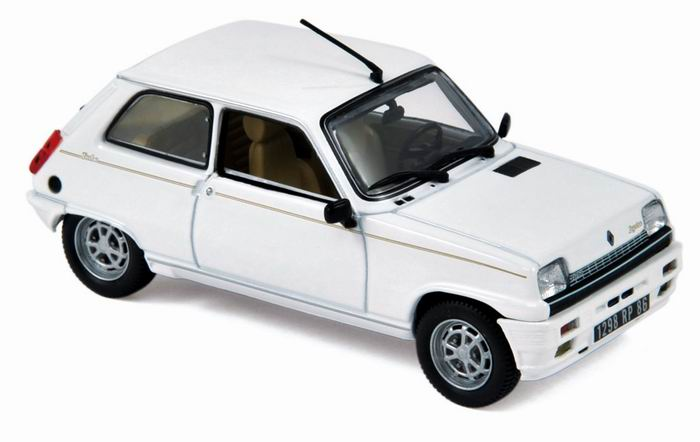 Miniature RENAULT 5 Lauréate Turbo NOREV 1/43