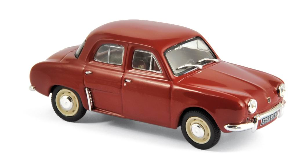 Voiture miniature RENAULT Dauphine Rouge 1961 NOREV 1/43