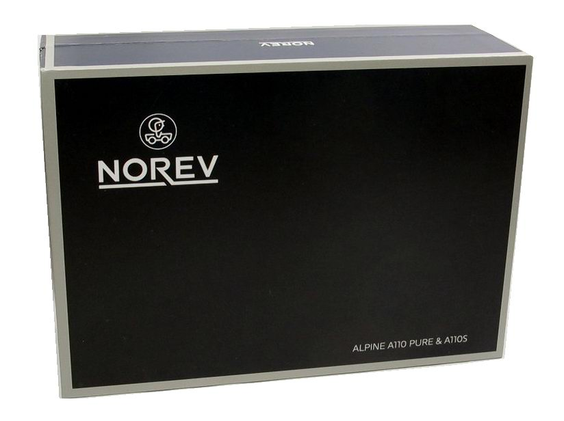 Miniature Coffret RENAULT Alpine A110S Alpine A110 Pure NOREV 1/43