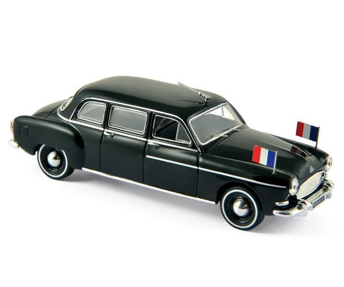 RENAULT Frégate Limousine Charles de Gaulle 1957 Presidentielle Norev