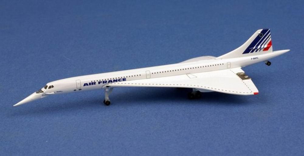 Maquette métal concorde Air France 1/500 F-BVFC