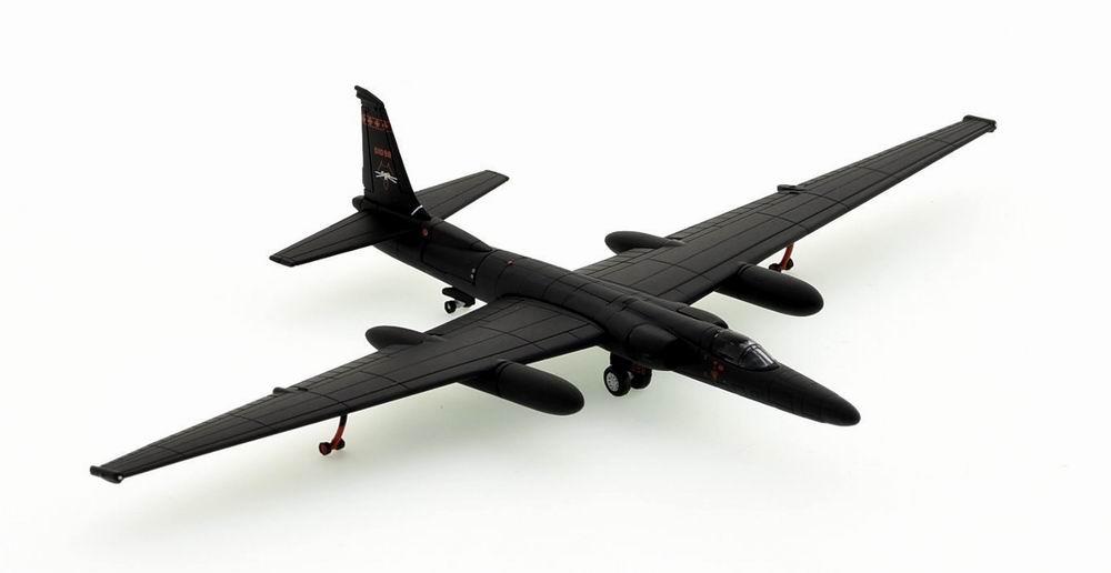 Maquette avion de reconaissance U2R US Air Force Dragon Lady 5th RS Black Cats 1/200