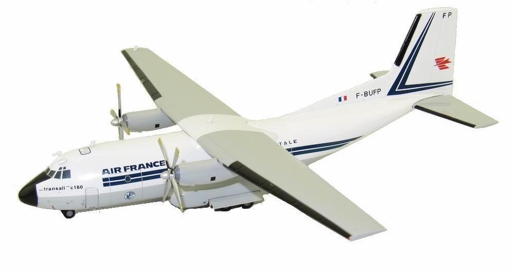 Maquette C-160 Transall Air France - Aéropostale Métal 1/200