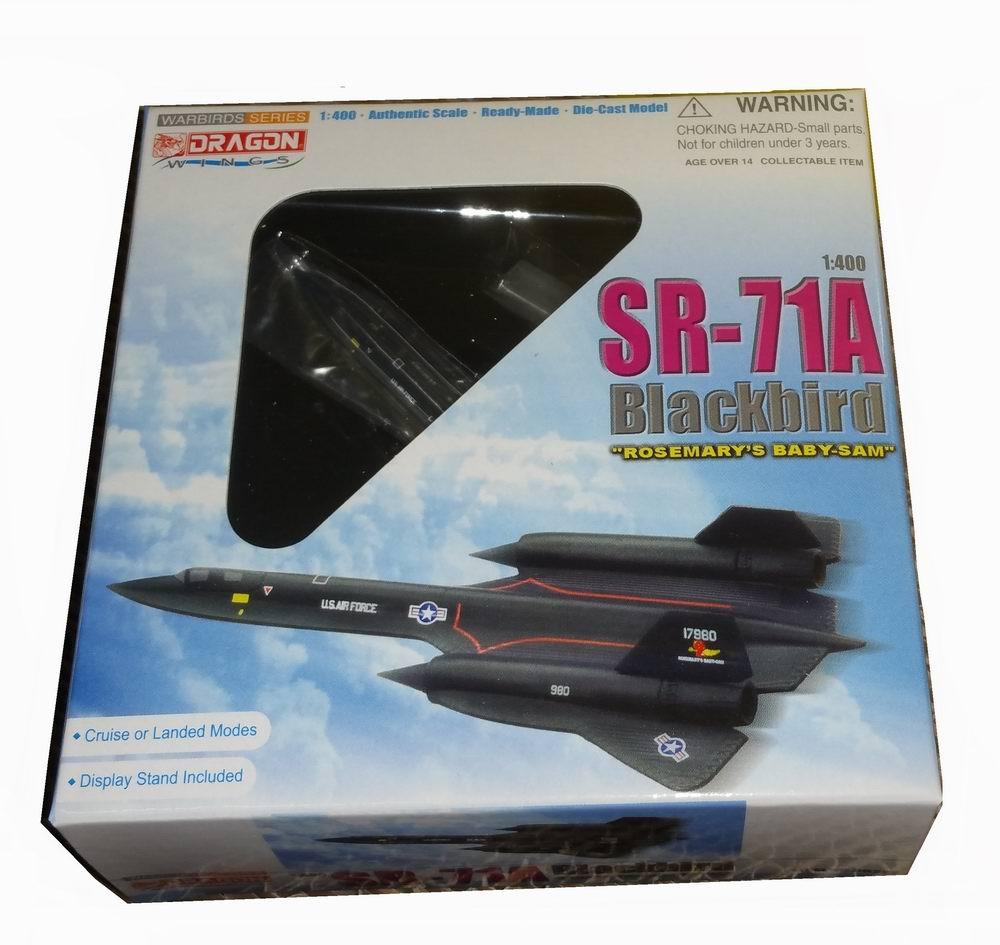 maquette avion Lockheed SR-71A Blackbird Rosemary Baby-San 1/400