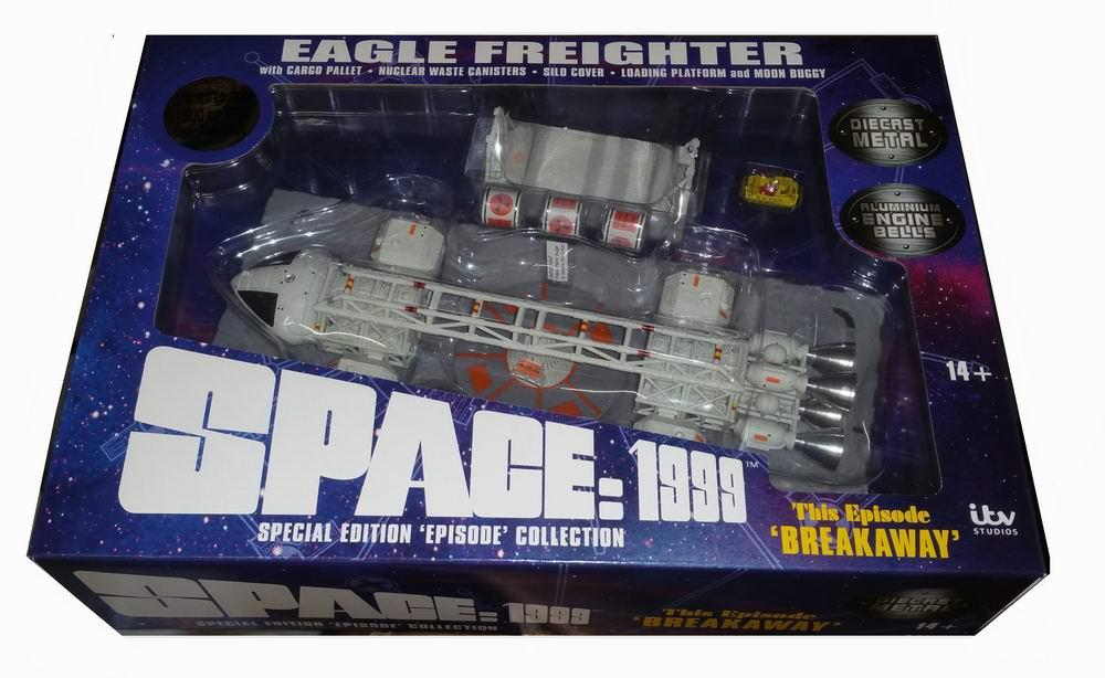 Maquette Eagle Cargo Cosmos 1999