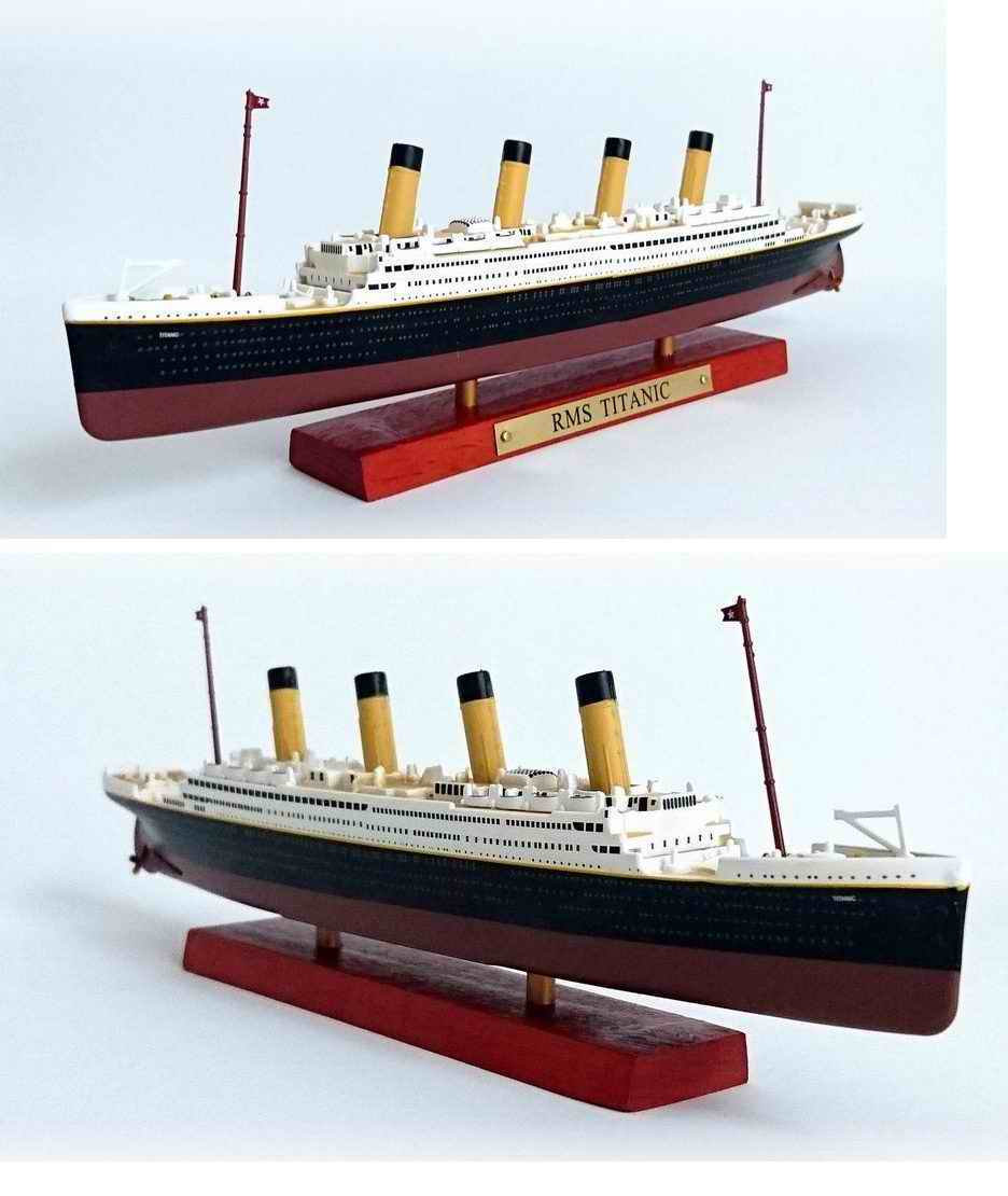 Maquette Navire Paquebot Transatlantique RMS TITANIC 1/1250