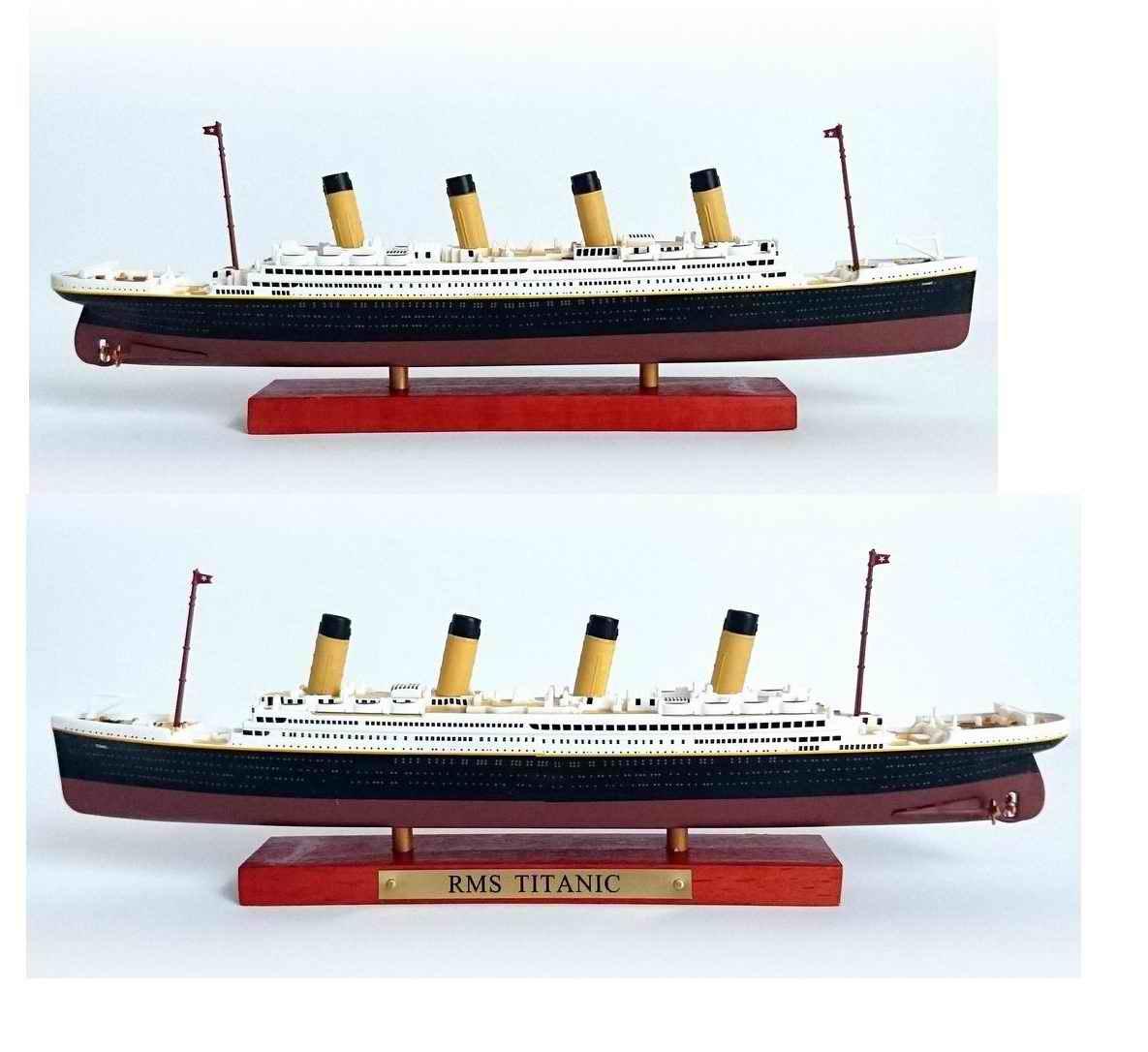 Maquette bateau Transatlantique R.M.S TITANIC 1/1250