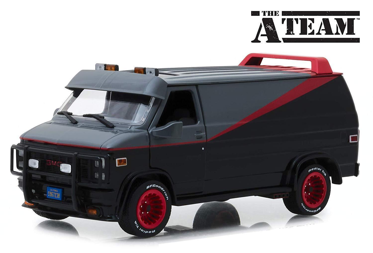 Camionette Agence Tous Risques 1/24 Greenlight