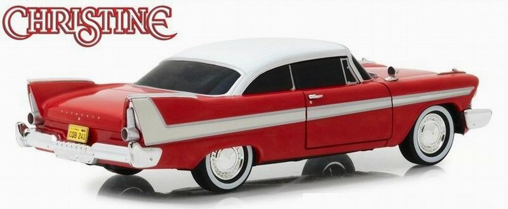 Miniature Voiture Plymouth Fury Christine version nuit diable méléfique 1/24