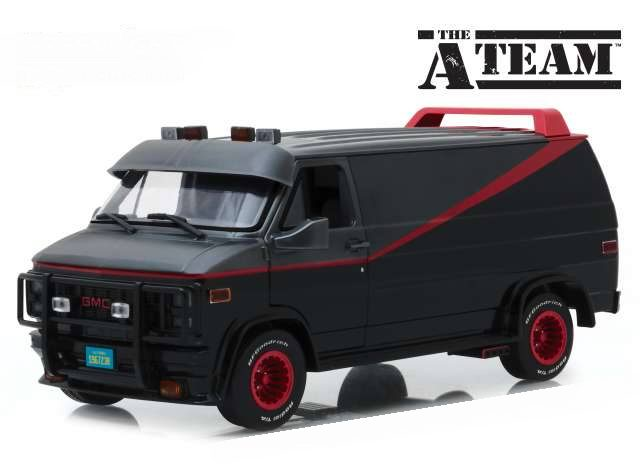 Camionette Agence Tous Risques boueuse 1/43 Greenlight