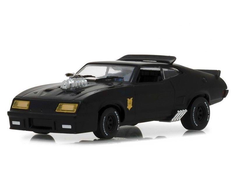 Voiture miniature MadMax Ford Falcon XB Coupe 1973 V8 Interceptor 1/43 Greenlight