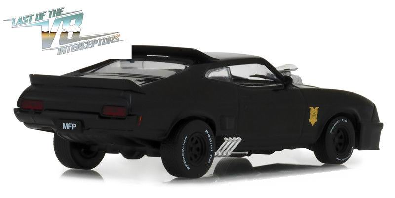 Voiture miniature Mad Max Ford Falcon XB Coupe 1973 V8 Interceptor 1/43 Greenlight