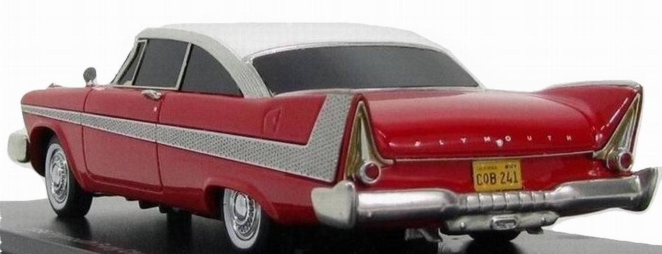 Voiture miniature en métal Plymouth Fury Christine 1/43
