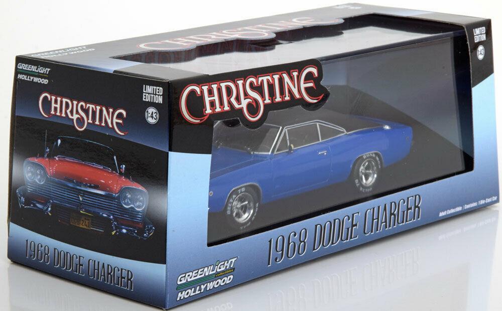 Voiture Dodge Charger 1968 Dennis Guilder's du Film Christine au 1/43 en Métal