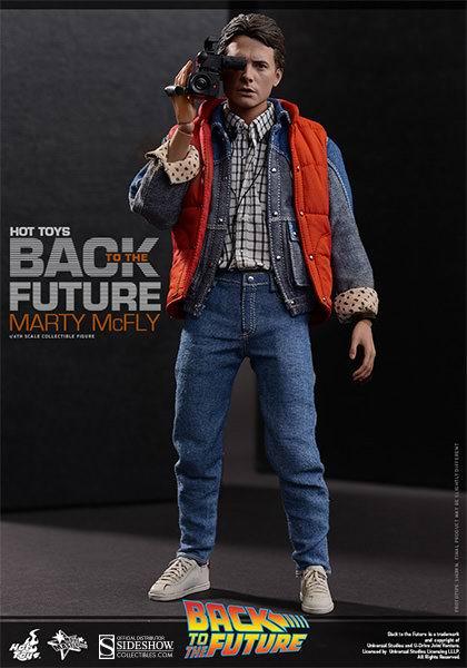 Figurine de Marty McFly du film Retour vers le Futur