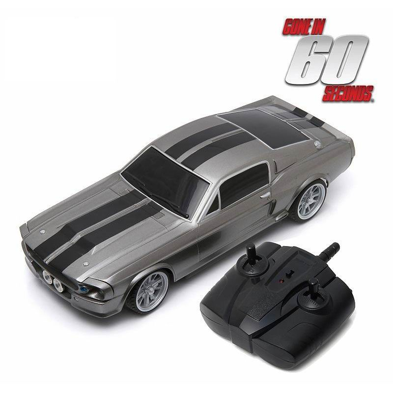 Voiture FORD MUSTANG Shelby GT 500E Eleanor 1967 60 Secondes Chrono radio commandé