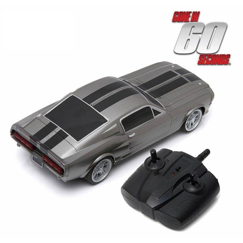 Voiture Miniature FORD MUSTANG radio commandé Shelby GT 500E Eleanor 1967 60 Secondes Chrono RC