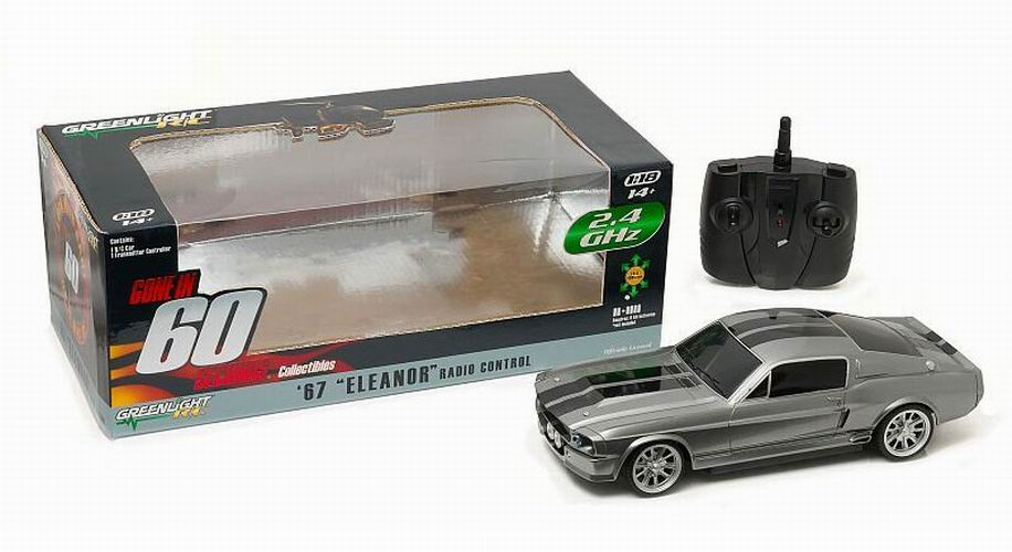 FORD MUSTANG RC Radio control Shelby GT 500E Eleanor 1967 60 Secondes Chrono RC
