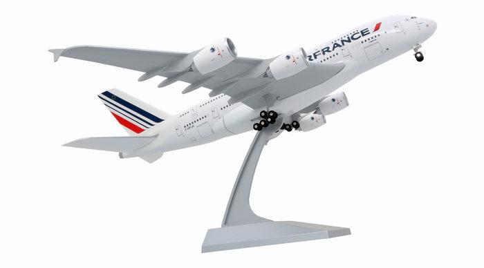 Avion AIRBUS A380-800 AIR FRANCE Nouvelles Couleurs 1/200