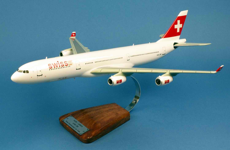 Maquette Avion AIRBUS A340-300 Swiss International Air Lines 1/125