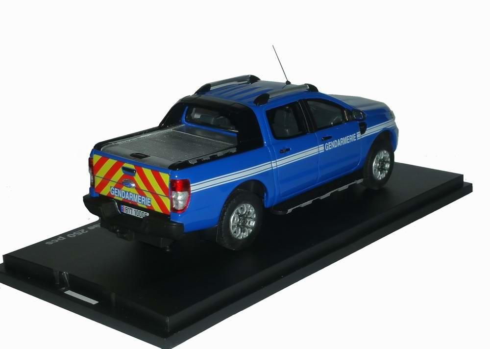 Miniature pick up Ford Ranger GENDARMERIE 1/43