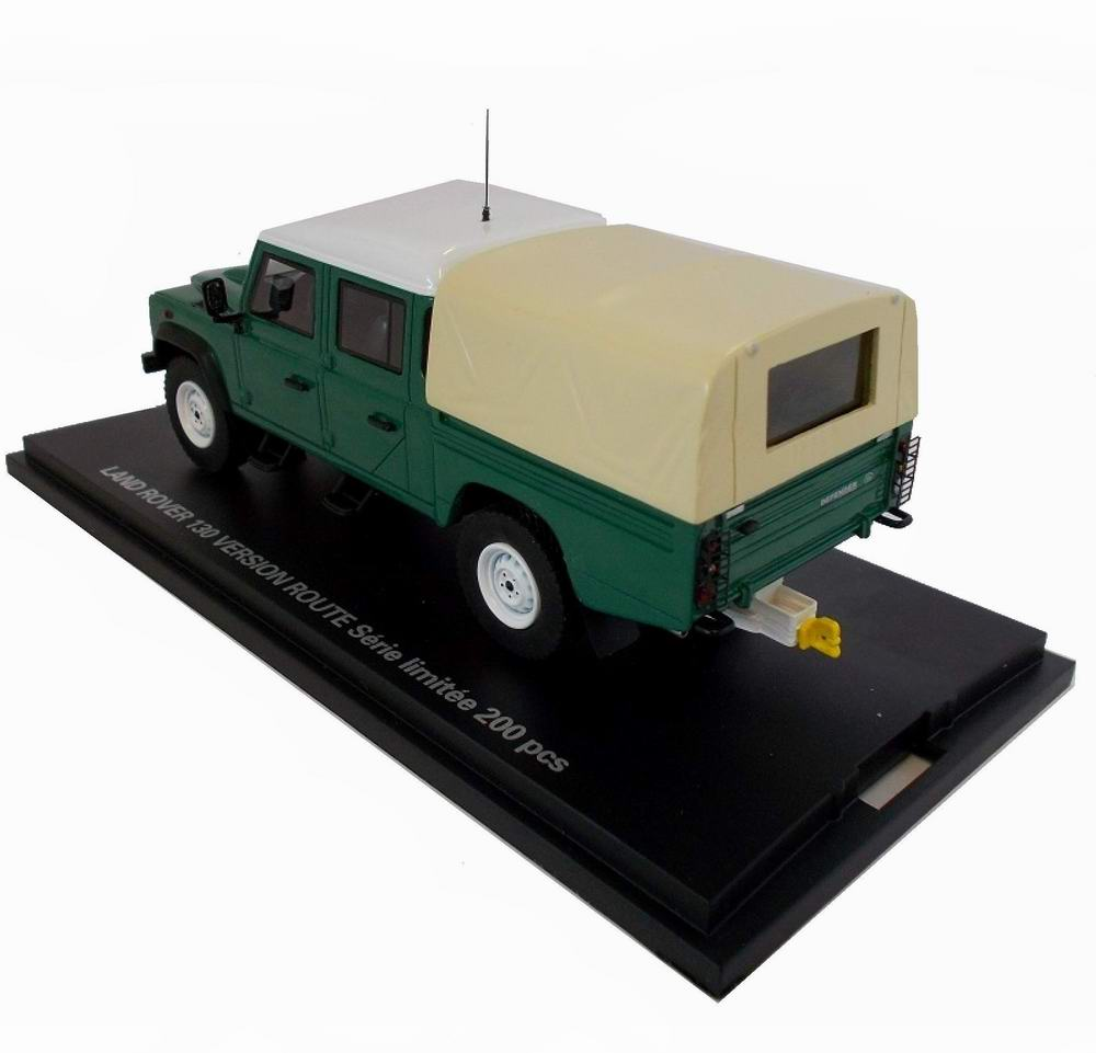 Miniature LANDROVER Version Route 1/43 Alarme