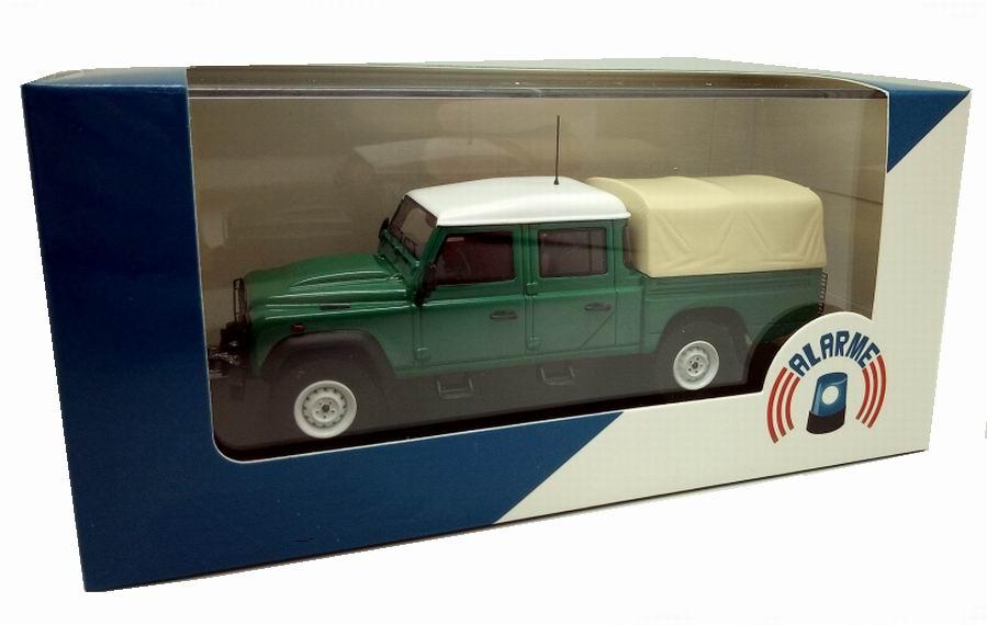Miniature Land Rover 130 1/43 Alarme