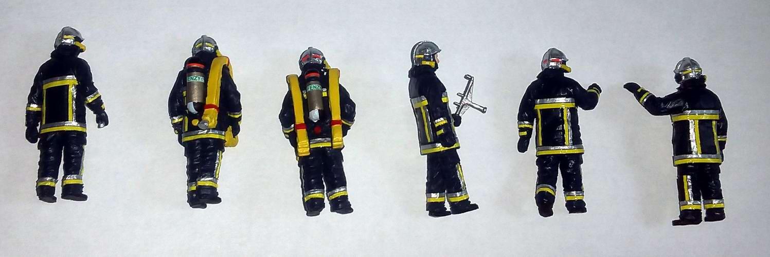 Figurines Sapeurs Pompiers 1/43 ALERTE