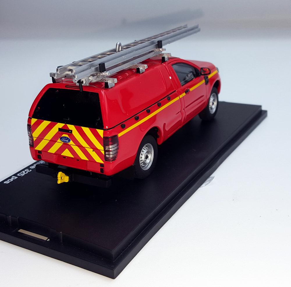 Miniature Ford Ranger VTUHR Pompiers 1/43 Alarme