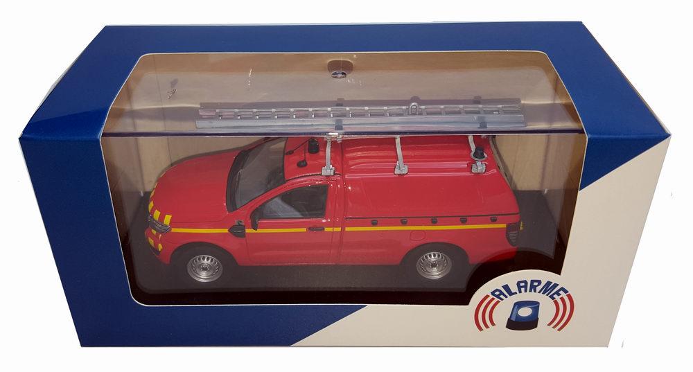 Miniature Ford Ranger VTUHR Sapeurs Pompiers 1/43 Alarme