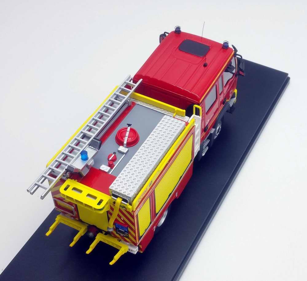 Camion de Sapeurs Pompiers MAN TGM 13.290 GALLIN CCRM Camion citerne rural moyen 1/43 Alerte