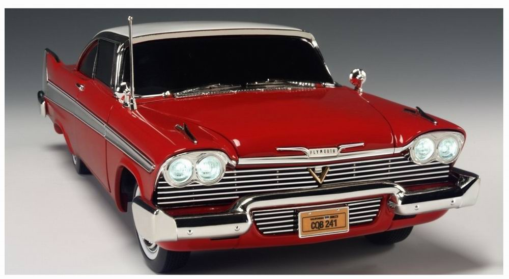 Miniature Voiture Plymouth Fury 1958 version nuit Christine 1/18
