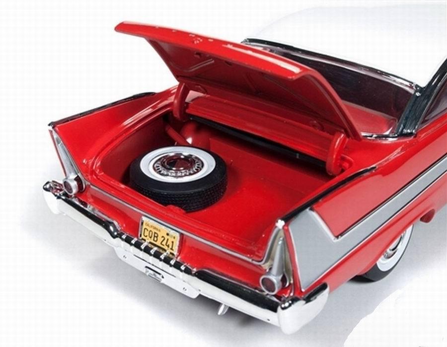 Miniature Voiture Plymouth Fury 1958 du film Christine Autoworld