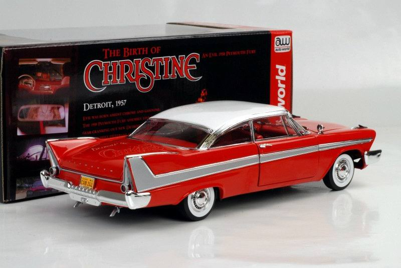 Voiture Plymouth Fury 1958 du film Christine Autoworld