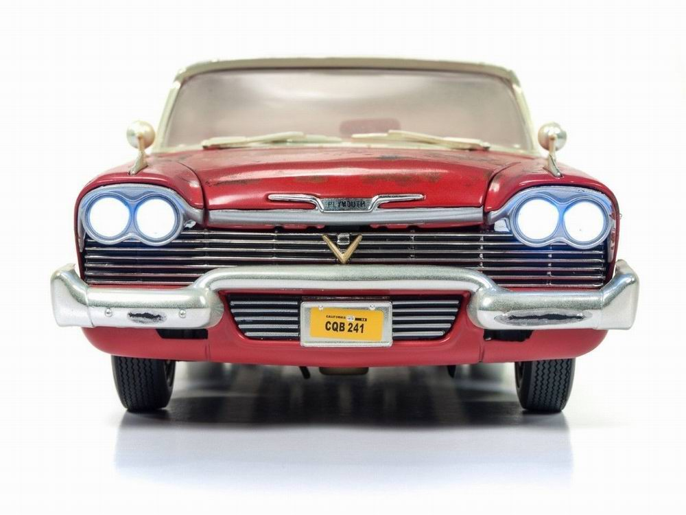 Miniature Voiture Plymouth Fury 1958 sale rouillée Christine 1/18