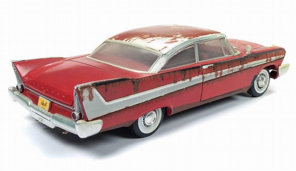 Miniature Voiture Plymouth Fury 1958 version rouillée Christine 1/18