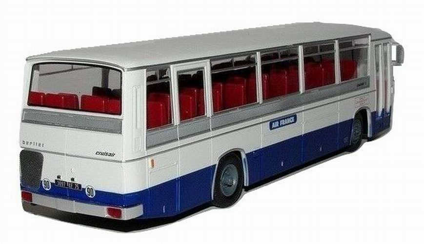 Autobus BERLIET Cruisair3 AIR FRANCE Orly Le Bourget Orly de 1969 1/43